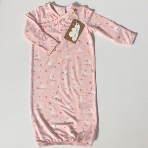 Angel Dear Bunnies Pink Gown 0-3M